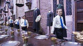 """Einmal eintauchen in die Welt von Harry Potter - Nahe London kann man """"The Making of Harry Potter"""" erleben."""