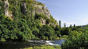 Winnetou und eine malerische Landschaft - erkunden kann man diese Kombination in Kroatien.