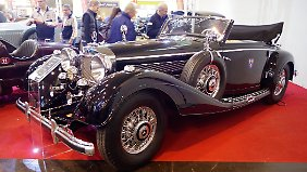 Für Kompressor-Mercedes der Vorkriegsgeneration werden deutlich siebenstellige Beträge aufgerufen.