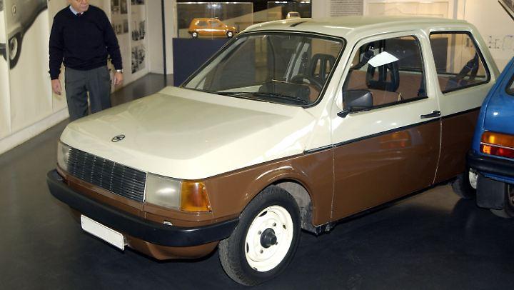 Eine der vielen Weiterentwicklungen des Trabant 601: der 601 WE von 1982.