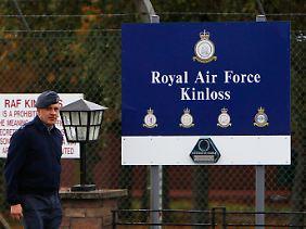 Auch der Stützpunkt der Royal Air Force in Schottland wird von den geplanten Einsparungen betroffen sein.