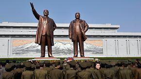 Misslungene Machtdemonstration: Nordkorea verpatzt Raketentest zu Kim Il Sungs Geburtstag