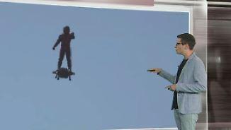 n-tv Netzreporter: Die Welt rätselt über spektakuläres Hoverboard-Video