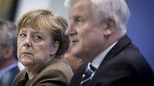 Merkel lässt sich nicht mehr auf die Attacken aus Bayern ein. Geschlossenheit wollen dennoch beide versuchen.