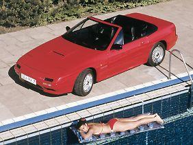 Im Juni 1989 erfolgt die Markteinführung des RX-7 Turbo Cabriolets.