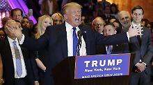 Verlierer Cruz und Sanders: Fünf Fakten zur New-York-Wahl