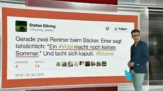 """n-tv Netzreporter: Internet amüsiert sich über """"Schwalbenkönig"""" Arturo Vidal"""