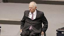 Anpassung an Lebenserwartung: Schäuble fordert höheres Rentenalter