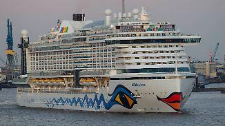 Sonnebaden trotz Regenwetter: Kreuzfahrtschiffe fahren immer häufiger gen Norden