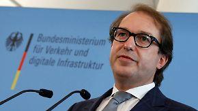Mitschnitt der Pressekonferenz: Dobrindt stellt Ergebnisse staatlicher Diesel-Abgas-Tests vor