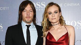 """Liebes-Aus mit Joshua Jackson?: Diane Kruger schwärmt über """"Walking Dead""""-Star Norman Reedus"""
