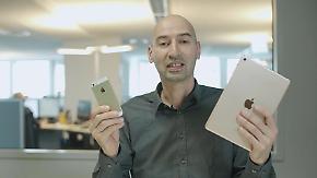 """n-tv Ratgeber: Das können Apples """"Minis"""" iPad Pro 9.7 und iPhone SE"""
