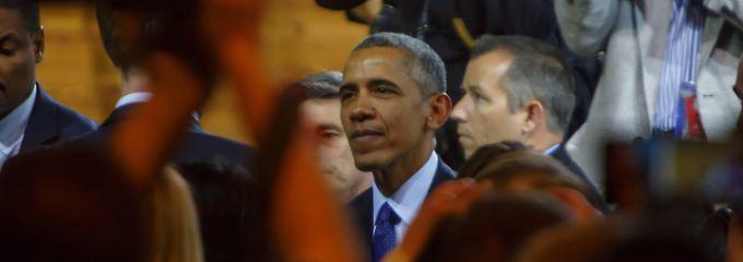 Obama auf der Hannover Messe.