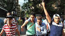 """Kairo, """"eine Stadt unter Besatzung"""": Ägyptische Polizei zerschlägt Proteste"""