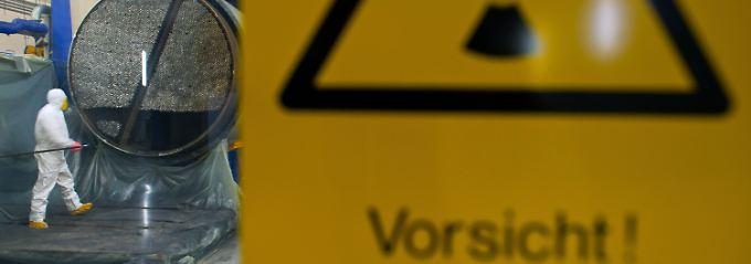 Geld für Atommüll-Lagerung: AKW-Betreiber sollen 23 Milliarden einzahlen