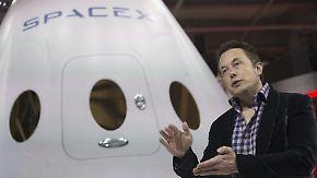 """""""Weltraum für jeden zugänglich machen"""": Elon Musk will SpaceX-Kapsel 2018 auf den Mars schicken"""
