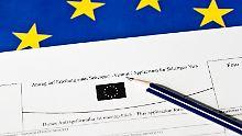 Visafreiheit für die Türkei: Berlin und Paris planen Notfallmechanismus