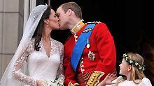 Fünf Jahre royale Perfektion: William und Kate feiern Hölzerne Hochzeit