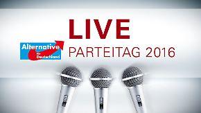 n-tv Spezial: Live vom Parteitag der AfD