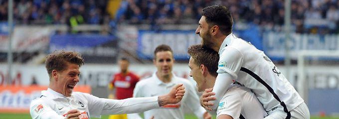 Zurück im Oberhaus: Freiburg kehrt in die Bundesliga zurück