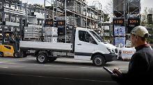 Mehr Gewicht im Programm: Mercedes rüstet den Sprinter auf