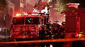 Zur Brandursache wurden keine Angaben gemacht.