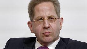 Der Chef des Verfassungsschutzes: Hans-Georg Maaßen.