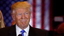 Schlappe in Indiana: Cruz steigt aus: Trump ist sich Kandidatur sicher