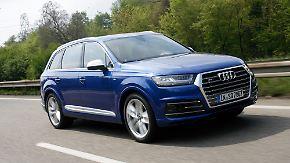 SUV ohne Turboloch: Mit dem SQ7 setzt Audi auf Vollgas