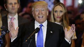 """""""Jetzt greifen wir Hillary Clinton an"""": Trump nimmt Kurs aufs Weiße Haus"""