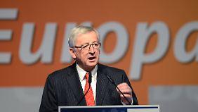 Reduktion der Migrationsströme: Juncker warnt Österreich vor Brenner-Schließung