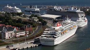 Hunderte Passagiere erkrankt: Englisches Kreuzfahrtschiff hat Norovirus an Bord