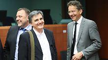Griechenlands Schuldenkrise: Eurogruppe bereitet Hilfsmilliarden den Weg