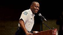 Rassismusdebatte in US-Stadt: Ferguson hat jetzt schwarzen Polizeichef