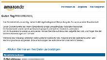 Täuschend echt und gefährlich: Betrüger verbreiten falsche Amazon-Mails