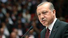 Der türkische Präsident Erdogan weigert sich, die Anti-Terrorgesetze zu ändern - doch dies ist Voraussetzung für eine Visafreiheit.