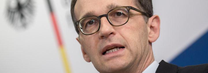 Antikorruptionsgipfel in London: Maas will härtere Strafen für korrupte Firmen verhängen