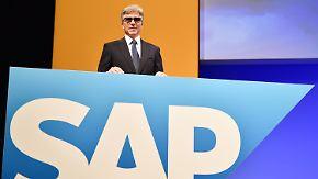 Getönte Brille auf Hauptversammlung: SAP-Chef McDermott äußert sich zu seiner Augenverletzung