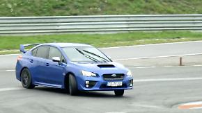 In Sachen PS ist Luft nach oben: Subaru WRX STI - Ein Meister der nassen Drift