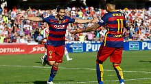 24. Meisterschaft perfekt: Triple-Suarez schießt Barcelona zum Titel