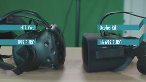 n-tv Ratgeber: Oculus Rift und HTC Vive im VR-Brillen-Vergleich