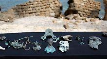 Fundsache, Nr. 1325: Taucher bergen Römerschatz vor Israel