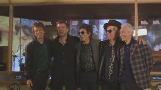 Begegnung im Band-Museum in London: Rolling Stones überraschen einen ihrer größten Fans