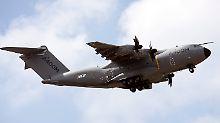Airbus muss Planung vorlegen: Bundeswehr prüft Alternative zu A400M