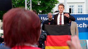 Anti-Islam-Proteste in Erfurt: AfD und Pegida verbrüdern sich im Kampf gegen Moscheebau