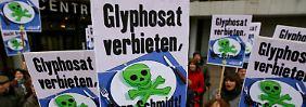 Auch Große Koalition gespalten: Experten streiten über Risiken von Glyphosat