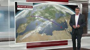 """Absturz von Egypt-Air-Maschine: Wetter lässt sich als Ursache """"nahezu ausschließen"""""""