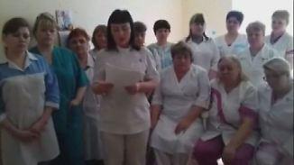 Krise lässt Protest langsam wachsen: Russische Krankenschwester sendet Hilferuf