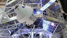 """Nasa-Projekt """"Orion"""": Bau an Mond-Raumschiff startet in Bremen"""