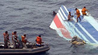 Immenser Zeitdruck: Absturz über offenem Meer erschwert Suche nach Blackbox